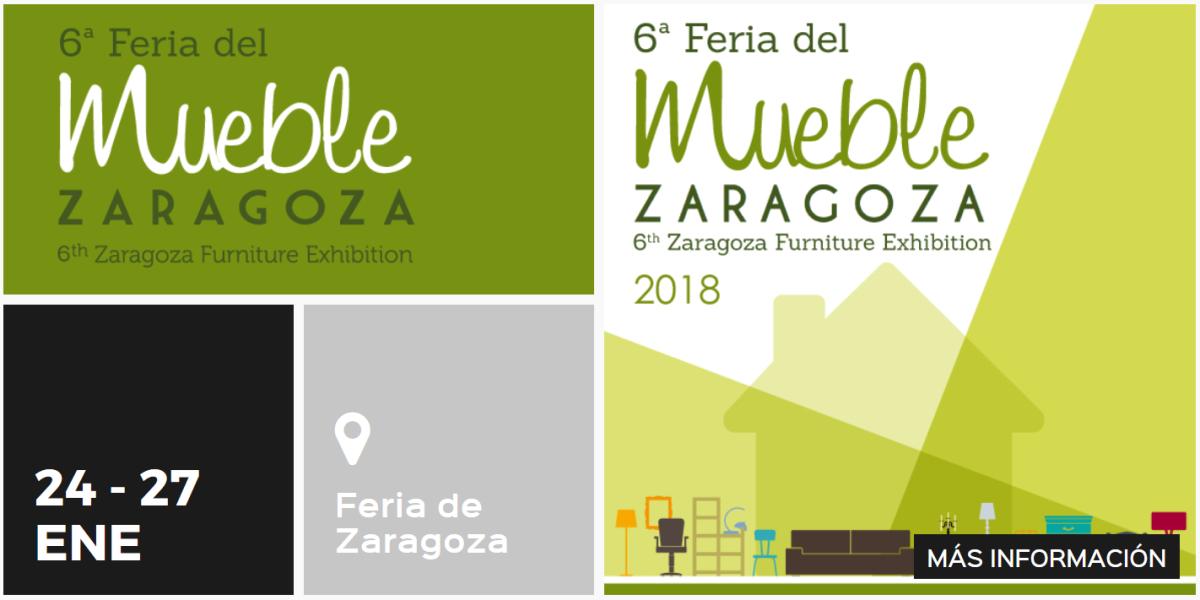Zaragoza celebra la vi feria del mueble t lahome for Feria del mueble zaragoza